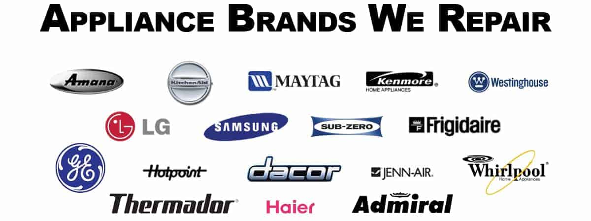 we repair most appliance brands